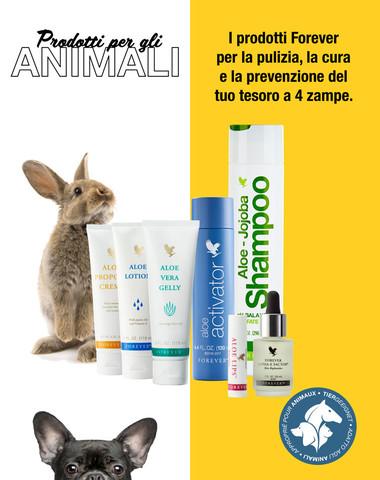 Produkte für Tiere
